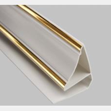 Плинтус ПВХ  Золото 3,0 м (30 мм)