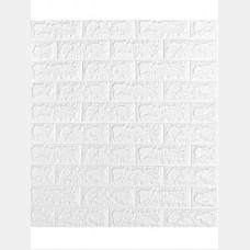 Кирпич белый  Самоклеющиеся 3D панели