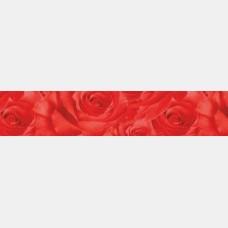 Кухонный фартук ПВХ Розы красные  0,60*3,0 м