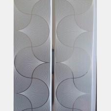 Панель ПВХ Н1-24 Орнамент грей 0,2*3 м