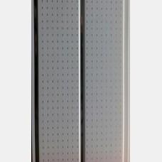 Панель ПВХ Н1-16 Штрих белый 0,2*3 м