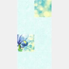 Панель ПВХ 0145 Ирисы голубые 2,7м