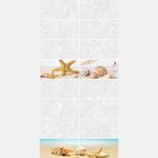 Панель ПВХ 0148 Ракушки плитка 0,25*2,7 м